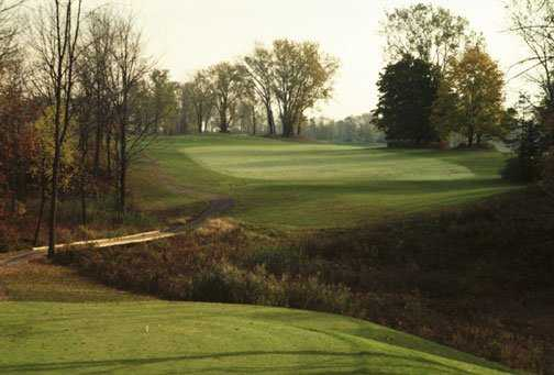 A view from the 7th tee at Buffalo Tournament Club
