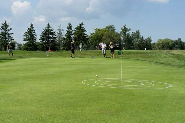 A view of the practice area at Riverview Golf & Country Club