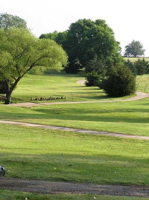 A view from Lindsborg Golf Course