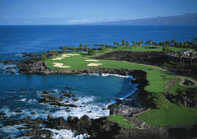 No. 15 on the South Course at Mauna Lani Resort