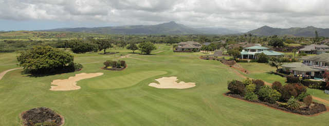 Aerial view from Kiahuna GC