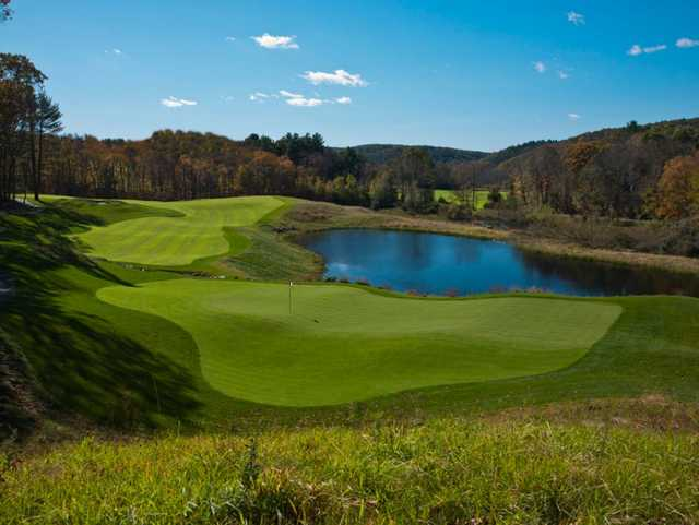 A view of the 6th hole from the Mohegan Sun Golf Club