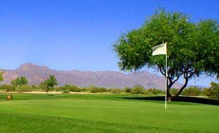 A view of green at Apache Creek Golf Club