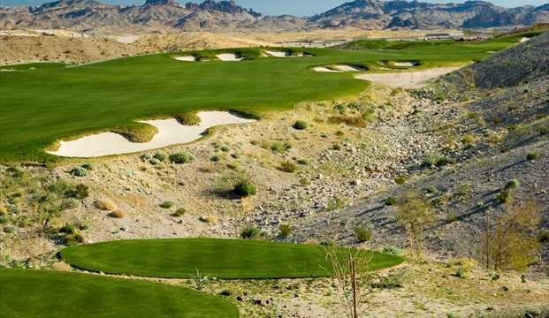 A view from tee #1 at Laughlin Ranch Golf Club