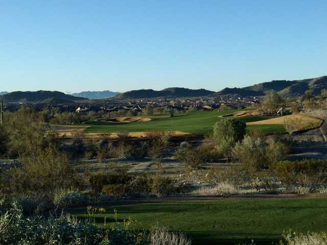 A view of the 1st hole at Golf Club of Estrella
