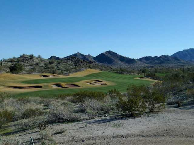 A view of fairway #18 at Golf Club of Estrella