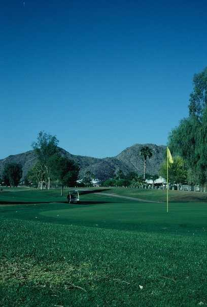 A view from Ahwatukee Country Club