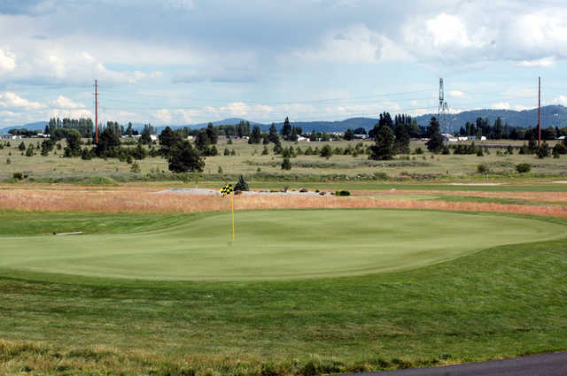 A view of green at Links Golf Club