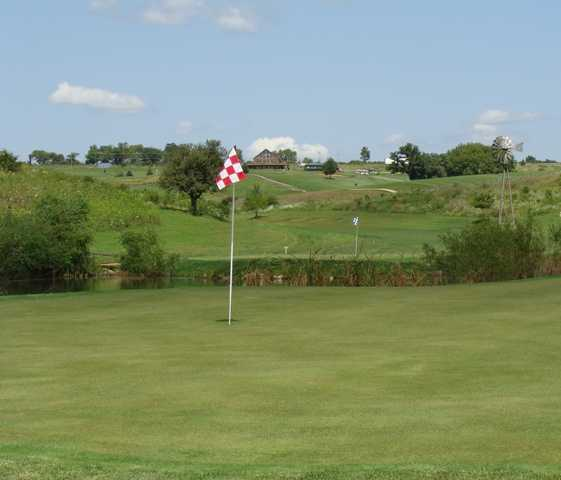 A view of hole #2 at Valley from Deer Valley Golf Course
