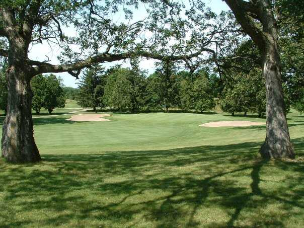 A view of the 3rd hole at Old Hickory Country Club