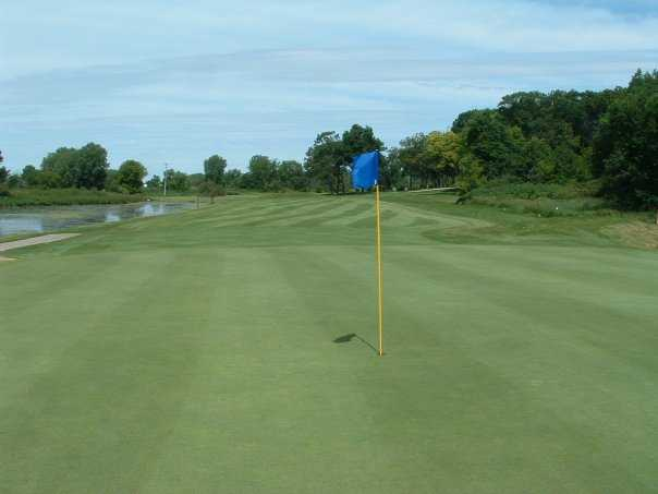 A view of the 14th green at Old Hickory Country Club