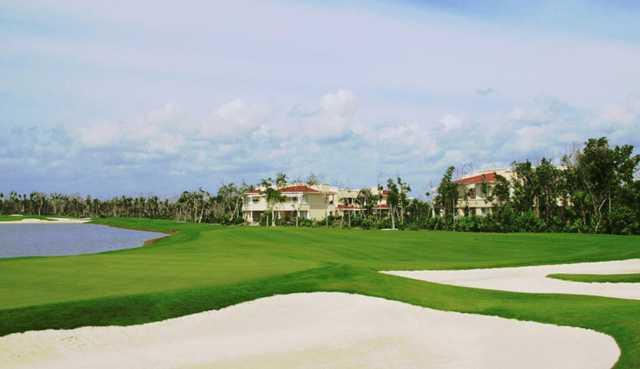 A view of bunkers at Moon Palace Cancun.