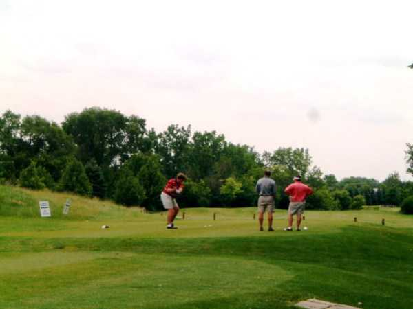A view of a tee at Stony Creek Golf Course