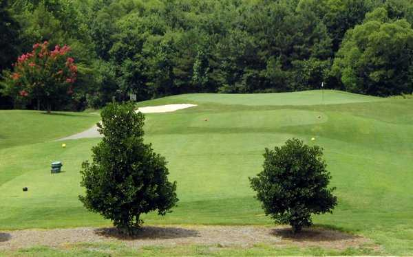 A view from tee #8 at Hedingham Golf Club