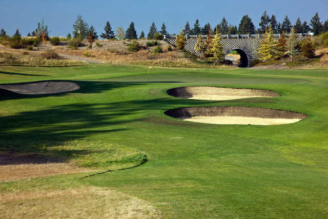 A view of the first hole at The Home Course.