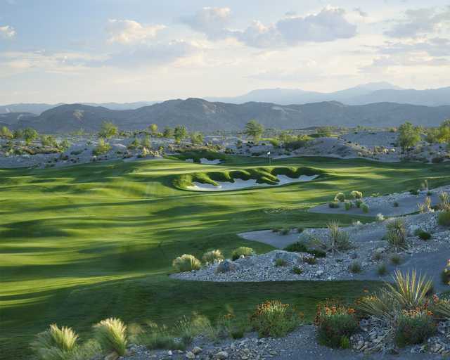 A view of the 10th hole at Coyote Springs Golf Club