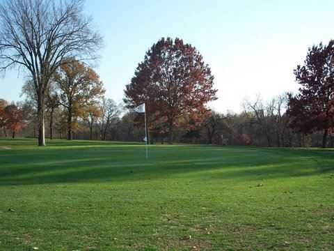 A fall view from Osawatomie Golf Course