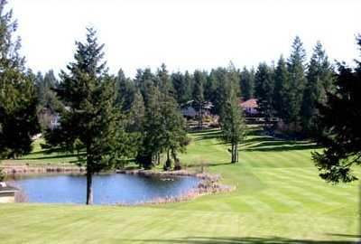 A view from Lake Land Village Golf Course