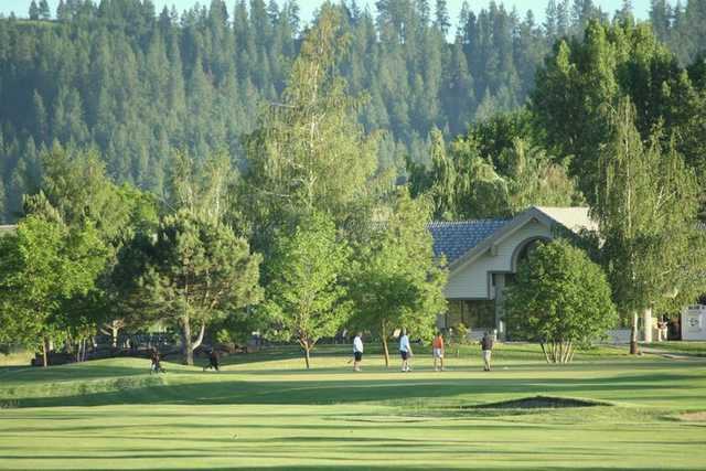 A view of the clubhouse from Fairways Golf Course