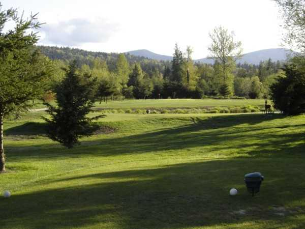 A view from tee #17 at Twin Rivers Golf Course