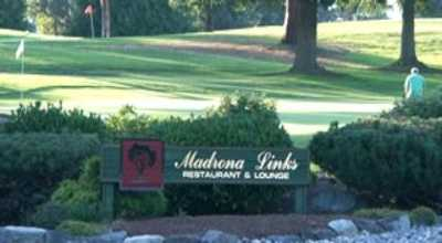 A view from Madrona Links Golf Course