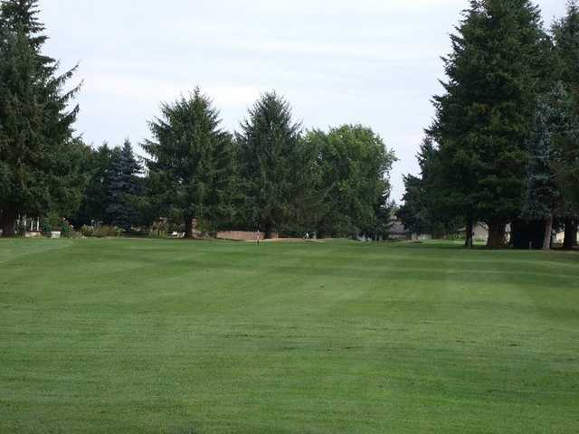 A view of fairway #12 at Capitol City Golf Club