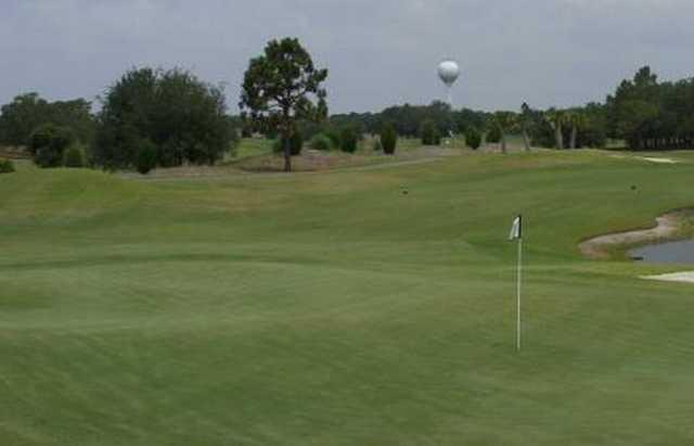 A view of the 1st green at Masonboro Golf Club