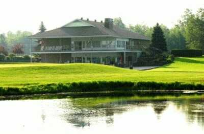 A view of the clubhouse at Stittsville Golf Course.