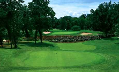 A view of the 15th hole at Deer Creek Golf Club