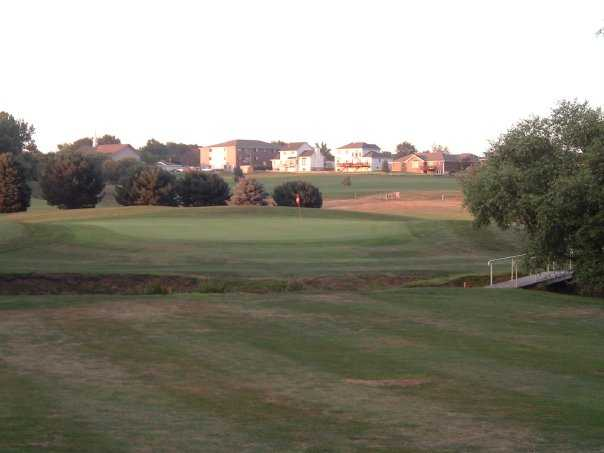 A view of green at Thornridge Golf Course