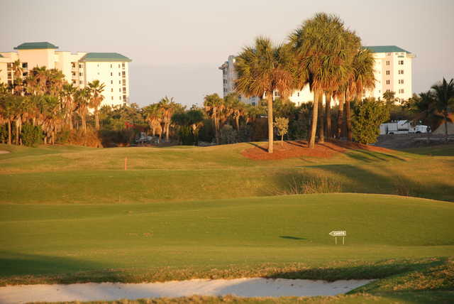A sunny view from Shell Point Golf Club