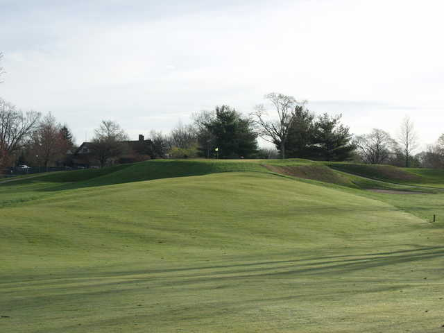 A view of green #15 at Harrison Hills Golf & Country Club.