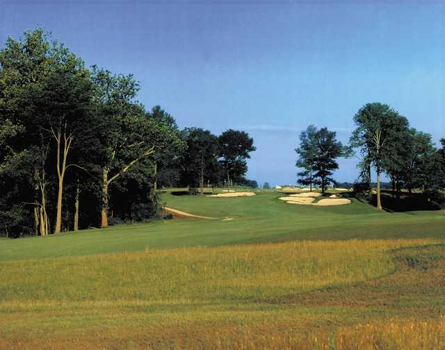 A view of fairway at The Links at Heartland Crossing.