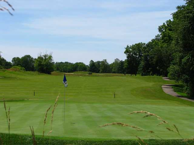 A view of green #5 at East from Otter Creek Golf Course.