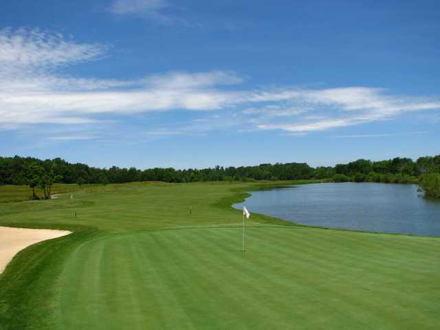 A view of the 7th hole at East from Otter Creek Golf Course.