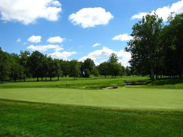 A view of the 2nd hole at West from Otter Creek Golf Course.