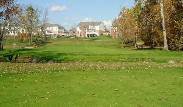 A fall view from Gray Eagle Golf Club