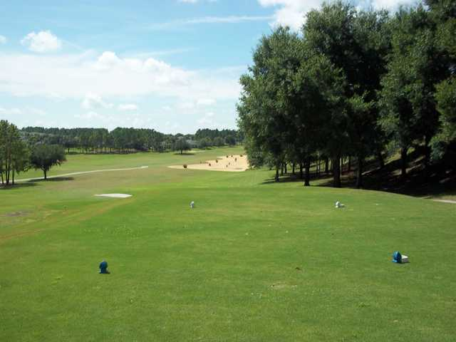 A view from a tee at Kings Ridge Golf Club
