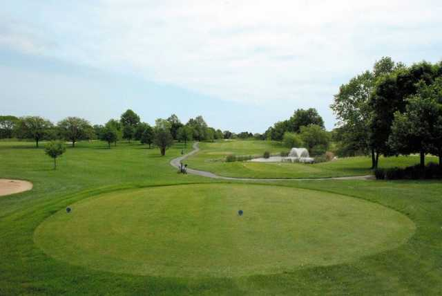 A view from tee #7 at Hillview Country Club