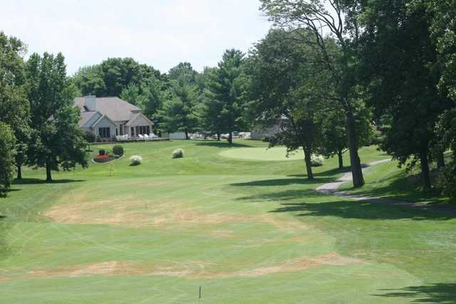 A view of the clubhouse at Greensburg Country Club