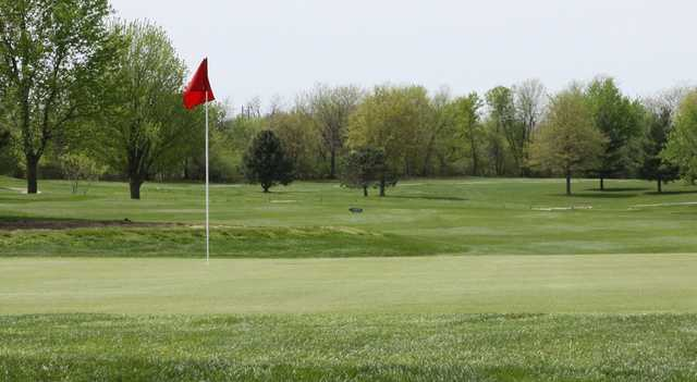 A view of green at Shamrock Hills Golf Course