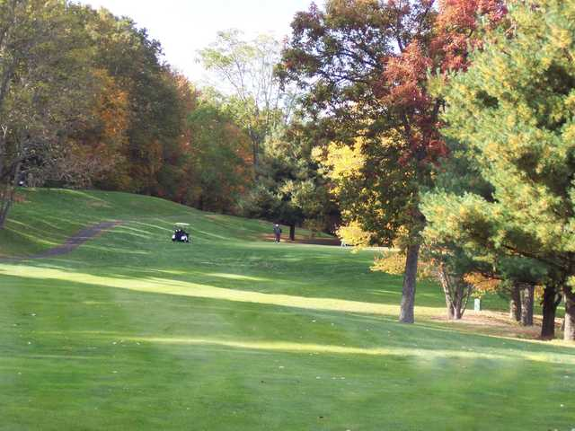 A fall view from Portland Golf Course West