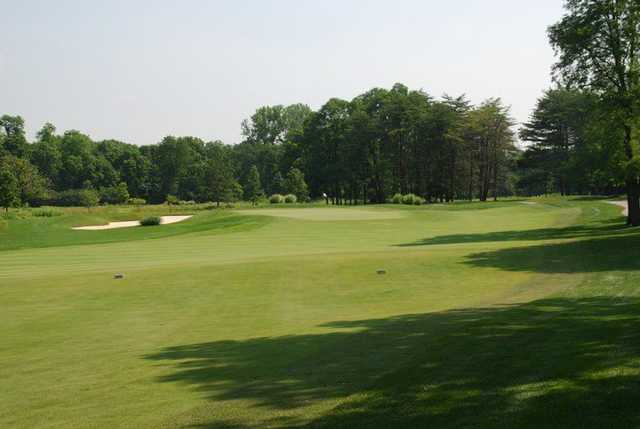 A view of a fairway at The Fort Golf Resort