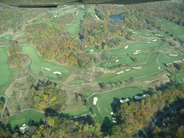 Aerial view from The Fort Golf Resort