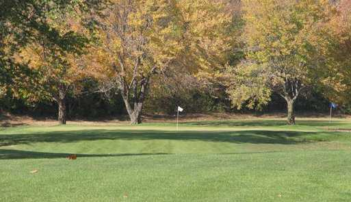 A fall view from South Grove Golf Course