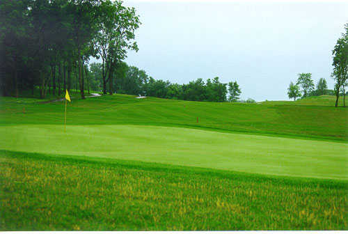 A view of green at Winding River Golf Club