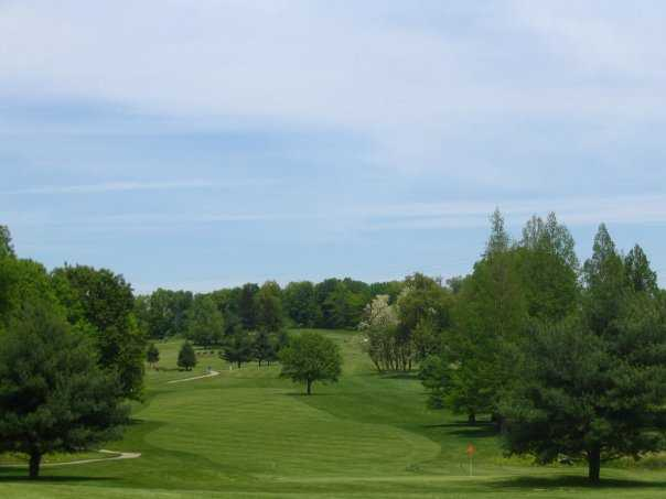 A view of fairway at Winding River Golf Club