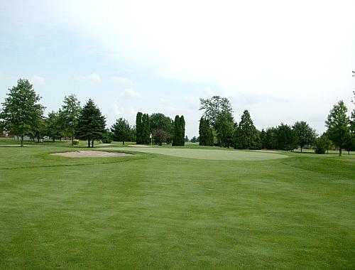 A view of the 12th hole from Chippendale Golf Course