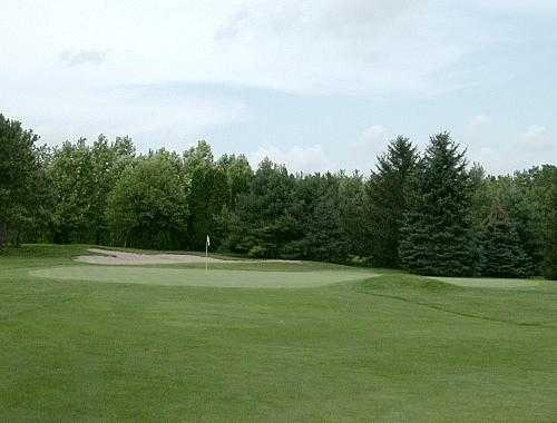 A view of hole #15 from Chippendale Golf Course