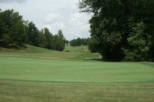 A view of the 6th green at Links O' Tryon Golf Club